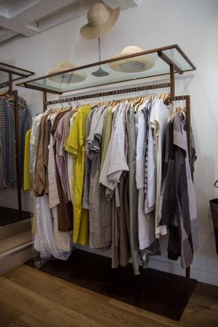 Bespoke Clothing Rail